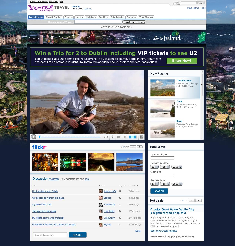 Go to Ireland - Website design & development Farnborough