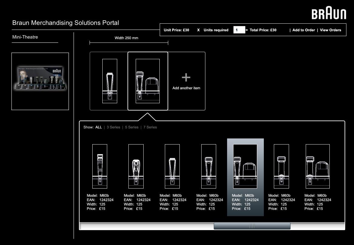 Braun Merchandising Solutions Portal - Website design and development in Farnborough, Hampshire