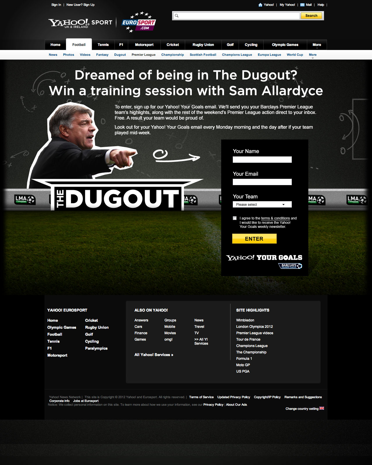Another awesome footy comp - Web Design Farnborough, Hampshire