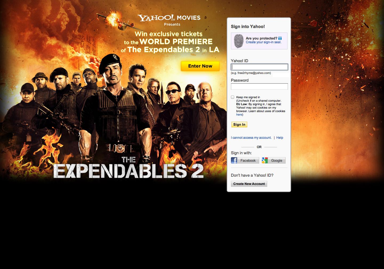 Win expendables 2 Premiere Tickets - Web Design & Development Farnborough, Hampshire