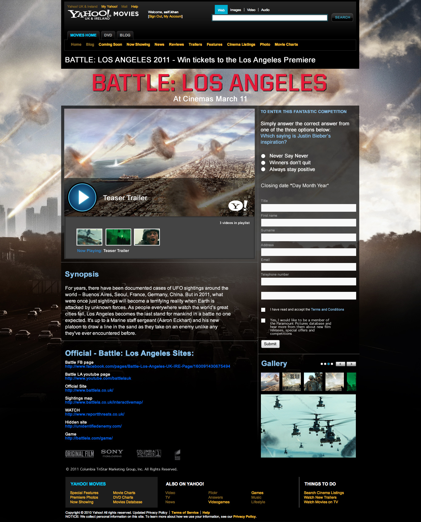 Battle: LA competition - Website Development Farnborough, Hampshire