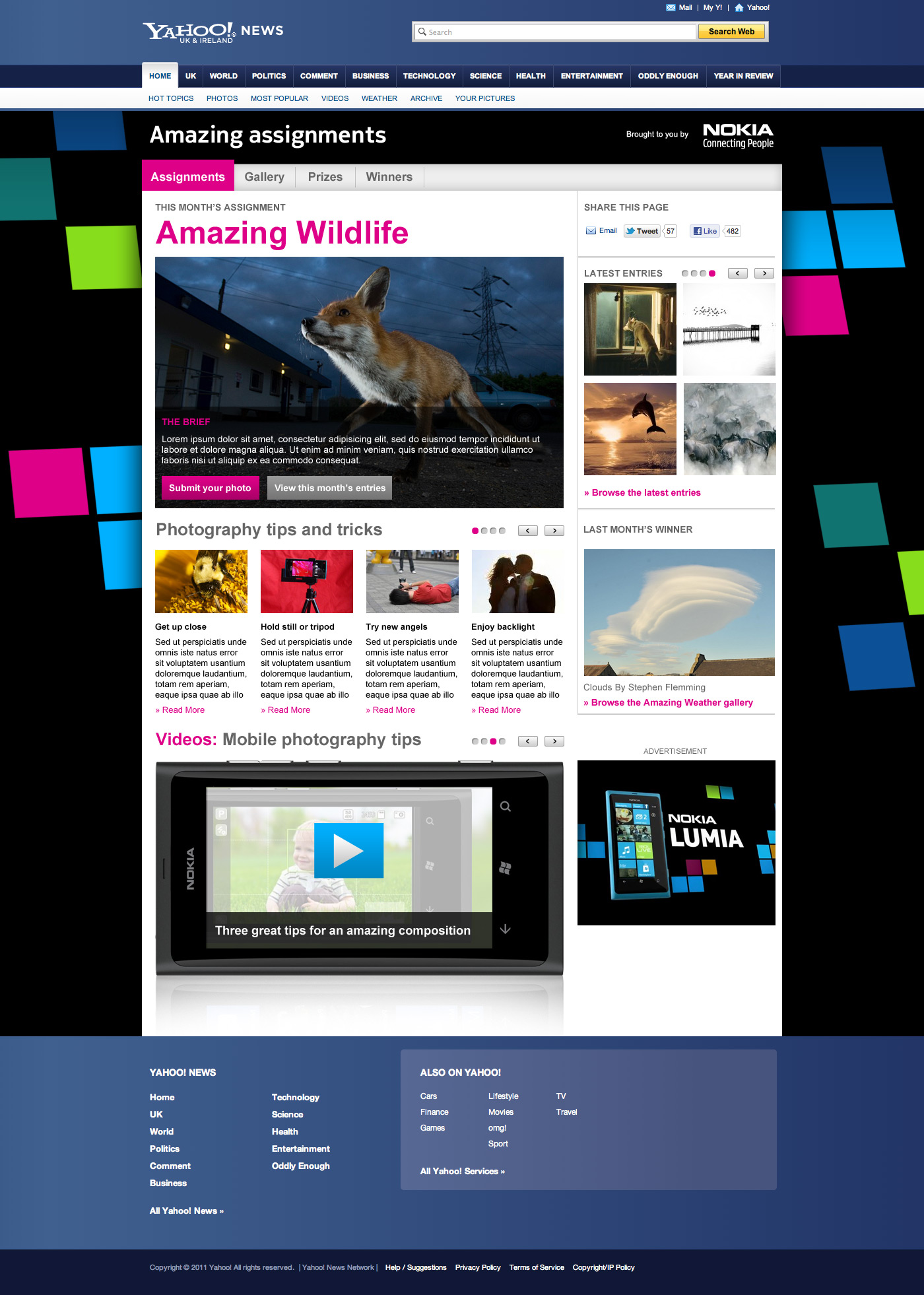 Nokia amazing assignments - Web Development Farnborough, Hampshire