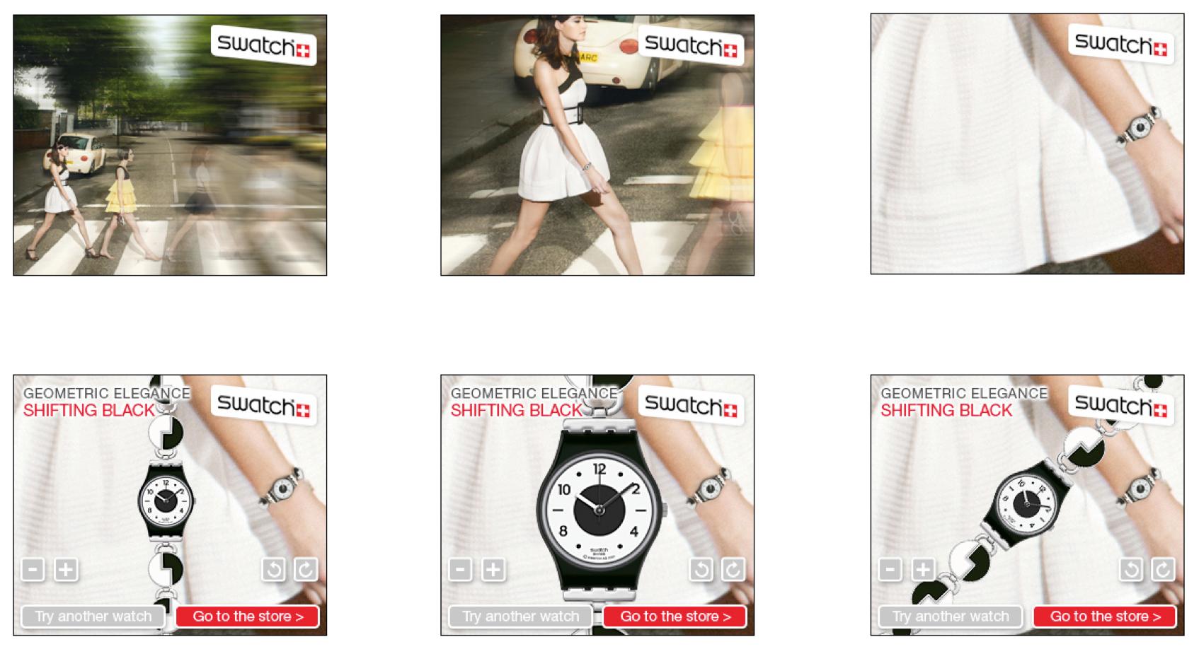 Swatch banner creative - Advertising - Web Design in Farnborough