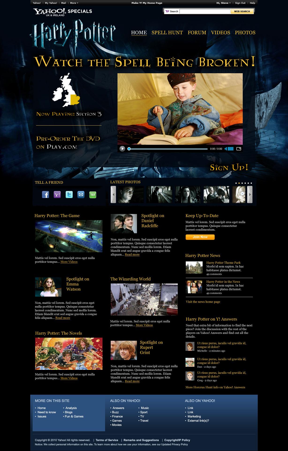 Website design and development in Farnborough, Hampshire