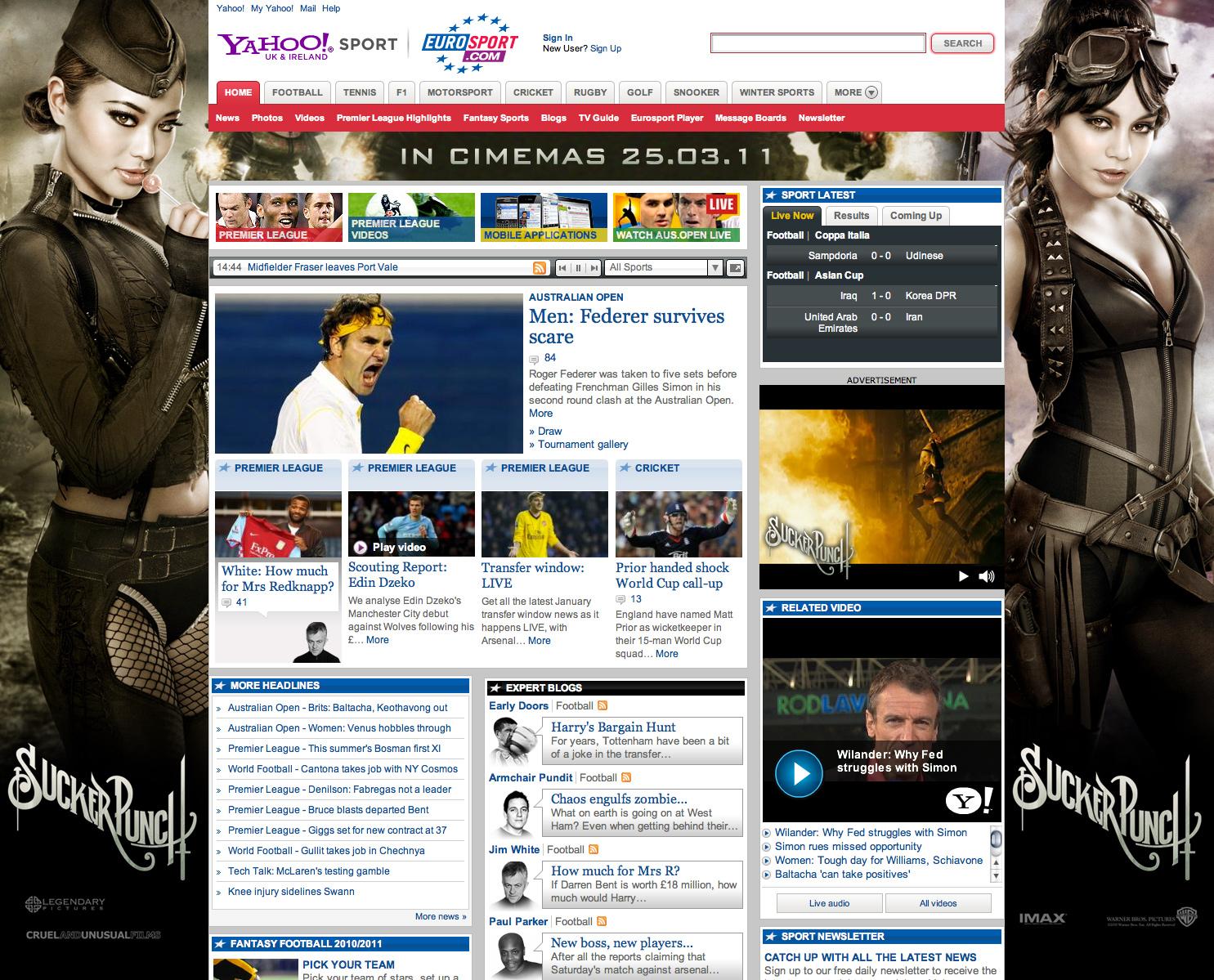 Sucker Punch - website takeover - Web Design in Farnborough, Hampshire