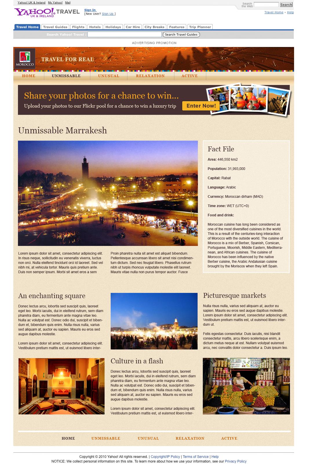 Discover Morocco - Website Development in Farnborough