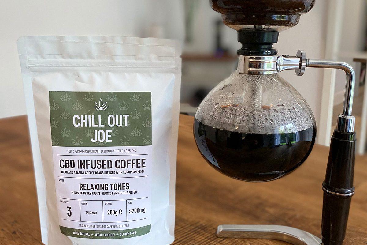 Chill Out Joe – CBD Coffee Packaging